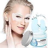 Under Eye Mask, Lanbena Under Eye Patches Hyaluronic Acid Eye Mask Moisturizing Circle Eye Mask Patches for Firming, Repair Nourish, Improve Bags Eye Lines Puffiness (50pcs)