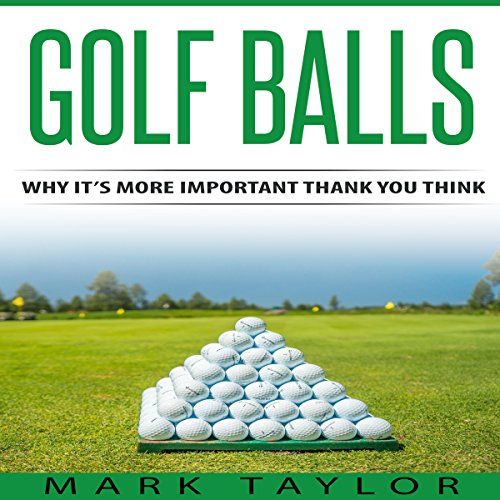 Golf Balls audiobook cover art