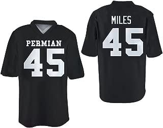 borizcustoms Boobie Miles 45 Permian HS Friday Night Panthers Football Jersey Stitch Sewn XS-4XL