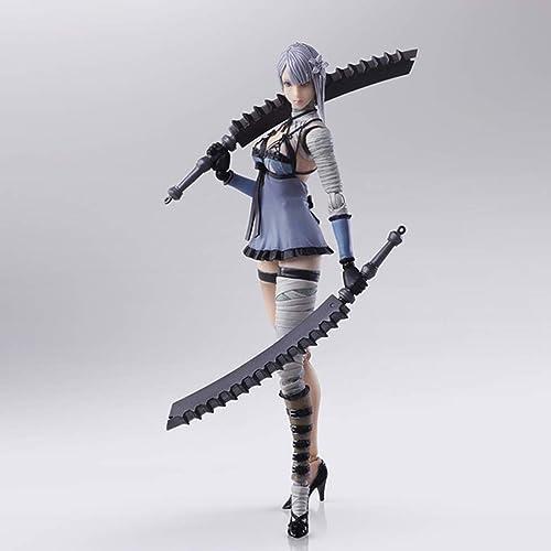 DYHOZZ NIER Replicant Spiel Statue Kaine Exquisite Anime Dekoration -14CM - Gelenk beweglich Spielzeugstatue