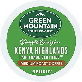 Green Mountain Coffee Roasters Kenya Highlands Keurig Single-Serve K-Cup Pods, Medium Roast Coffee, 72 Count