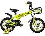 ABYYLH Bicicleta para Niños 12 14 16In Pedales para Niños Años Kids Bike,12In