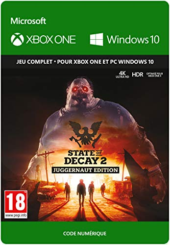 State of Decay 2 Juggernaut Edition   Xbox One/Win 10 PC - Code jeu à télécharger