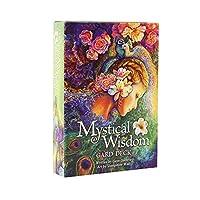 Mystical Wisdom 神秘的な知恵オラクルカードデッキEGuideブック付きフル英語版タロットカードゲーム運命を告げる運命予測の分裂ゲーム