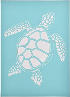 CHZIMADE Turtle Self-Adhesive Silk Screen Stencil Printing Mesh Transfers for Bag, T-Shirts, Paper, and Home Decoration (Turtle)