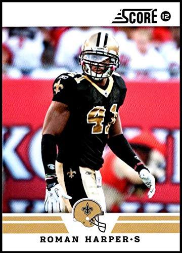 2012 Panini Score #30 Roman Harper NM-MT New Orleans Saints Official NFL Football Card