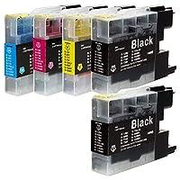 LC12 (BK×2/C/M/Y)【4色+BK1本 合計5本セット】ブラザー用 純互換インクカートリッジ 残量表示対応 最新ICチップ 対応機種: DCP-J940N / DCP-J740N / DCP-J540N / MFC-J840N / MFC-J960DN / MFC-J960DWN / MFC-J710D / MFC-J710DW / MFC-J860DN / MFC-J860DWN / MFC-J810DN / MFC-J810DWN / MFC-J6710CDW / MFC-J6510DW / MFC-J5910CDW / MFC-J955DN / MFC-J955DWN / MFC-J825N / MFC-J705D / MFC-J705DW / DCP-J925N / DCP-J725N / DCP-J525N LC12-4PK 【商品1年保証】Morishop製