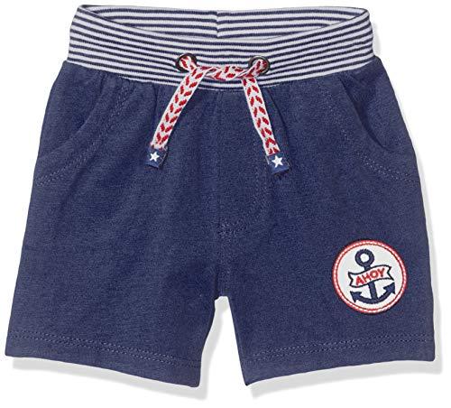 Salt & Pepper Baby-Jungen 03216106 Shorts, Blau (Navy 498), (Herstellergröße: 68)