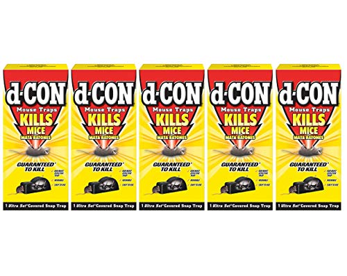 d - CON Ultra Set Covered Snap Trap 1 Ct. (Pack of 5)