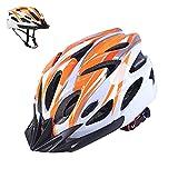 Athyior Casque Vélo Femme Homme 54-64cm Cyclisme Casque Bike Helmet Ajustable pour Bicyclette Skateboard Roller Sport Casque de sécurité