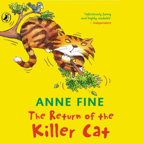 The Return of a Killer Cat audiobook cover art