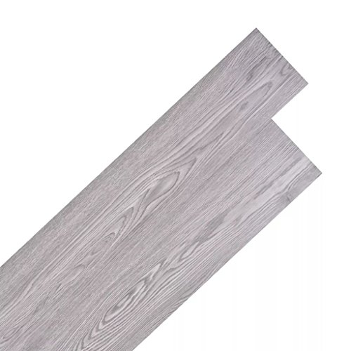 Festnight 36 Stk. PVC Laminat Dielen Selbstklebend PVC-Bodenbelag 5,02 m² Rutschfest Fußbodenbelag für Küche, Bad, Flur oder Wohnzimmer
