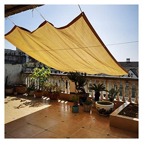 CAIJUN Voile D'Ombre De Soleil, Protection UV À 90% Parasol Perméable Verrière De La Vie Privée Maille Panneaux pour Jardin Extérieur Plantes Balcon, Personnalisée (Size : 3x4m)