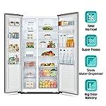 Hisense 566 L Side-By-Side Refrigerator