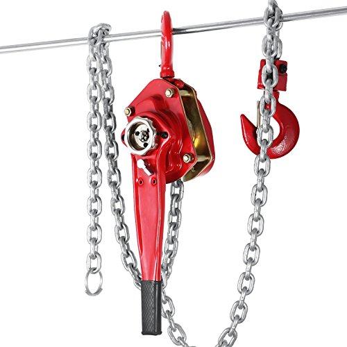 OrangeA 3 Ton Lever Block Chain Hoist 10FT Ratchet Lever Chain Hoist Come Along Lift Puller (10ft)