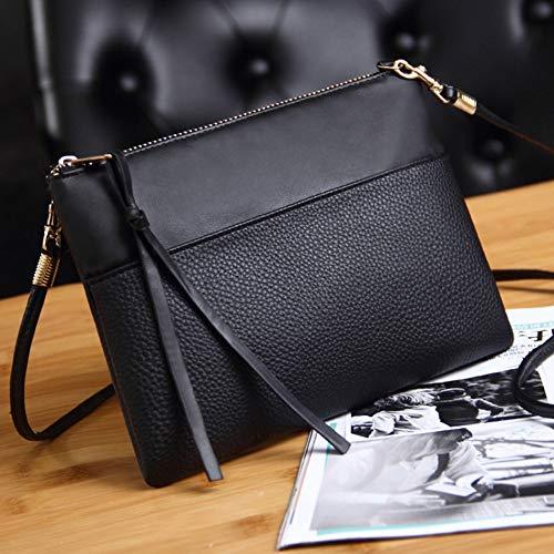 CHENXIAOXIAO tas crossbody- dames clutch bag eenvoudige zwart leer crossbody tassen omhullde gevormde kleine messenger schoudertas vrouwelijke tas