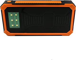 RISHIL WORLD Car Jump Starter Power Supply Type-C 9V 2A Fast Charger Dual USB Output with Display Single Item.