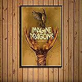 XQWZM Cover Art Poster, Imagine Dragons Musik Album