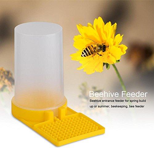 Zerodis Bienen Wasser Feeder Flüssigkeit Fütterungsanlage Wasserspender Kunststoff Bienenzucht Werkzeug Imkereiausrüstung Zubehör