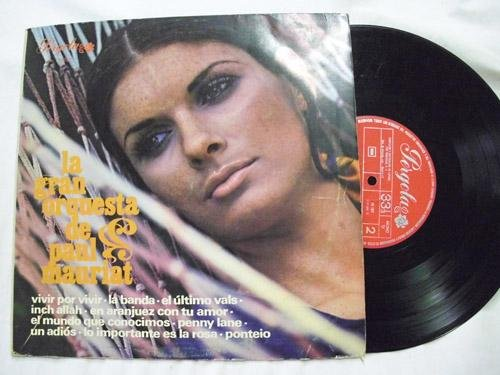 Antiguo Disco Vinilo - Old Vinyl Disc : La Gran Orquesta de Paul Mauriat