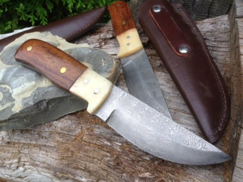 Damastmesser Outdoordamastmesser Outdoordamastmesser Outdoordamastmesser Holz und Knochen Bowie B00ESGG6QE | Online einkaufen  d9c230