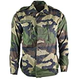 Genuine French army F2 combat jacket military-issue surplus shirt CCE camouflage BDU NEW (Large Regular 40