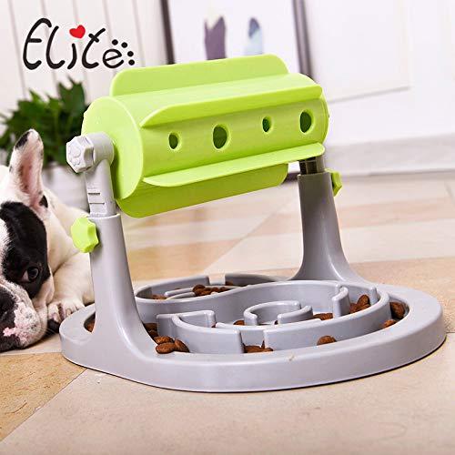 Yjksdlk Hond Bowl Langzame Feeder Consumeert Energie Katten En Honden Voedsel Bowl Speelgoed Roller Voedsel Lekker Langzame Voedsel Bowl Vol Educatieve Speelgoed Hond Bowl Langzame Feeder