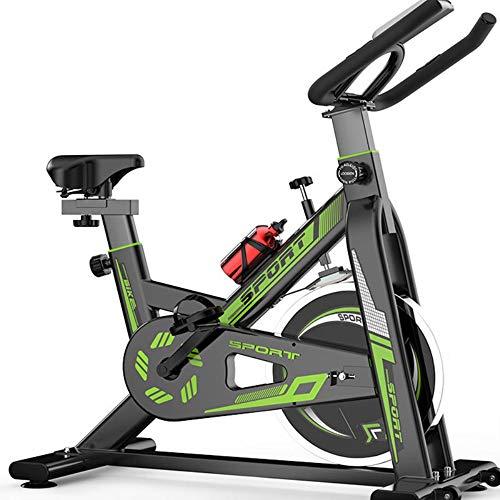 KX-YF Spinning Bike Startseite Cardio Workout Fahrradtraining Indoor Cycling Bike Riementrieb stationäres Fahrrad für Home Office Gym (Color : Red, Size : 102 * 102 * 480cm)