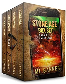 Stone Age Box Set: A Post-Apocalyptic Thriller by [M.L. Banner]