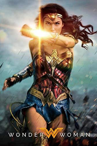 183Tdfc 1000 Piezas Puzzle Rompecabezas para Niños para Adultos Desarrollar La Paciencia Enfoque Reducir La Presión Rompecabezas Cartel De Impresión 3D HD/Super Hero Wonder Woman