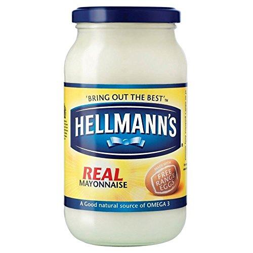 Mayonnaise Vraie Hellmann (400g) – Confezione da 2