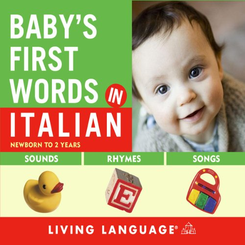 Baby's First Words in Italian Titelbild