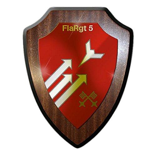 Copytec Wappenschild FlaRgt 4 Flugabwehrregiment Nibelungenkaserne Regensburg Bundeswehr Abzeichen Wappen Flak Panzer Gepard #22047