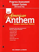 American Anthem, Modern American History: Progress Assessment Support System with Answer Key