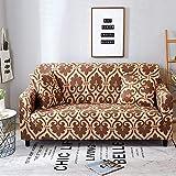 Funda Protectora de Tela para sofá, Funda elástica elástica para sofá, seccional, en Forma de L, Funda para sillón, 6_190-230cm, Protector de Tela elástica para sofá