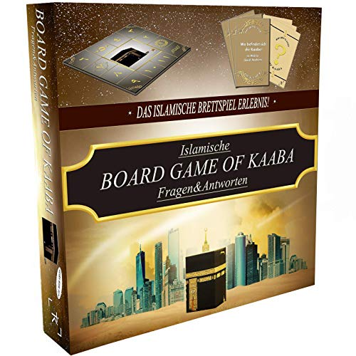 Board Game of KAABA - Das islamische Brettspiel Erlebnis! - Deutsch