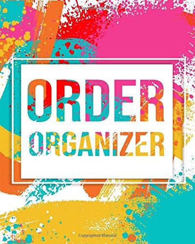 Order Organizer: Business Management Sales Record Journal