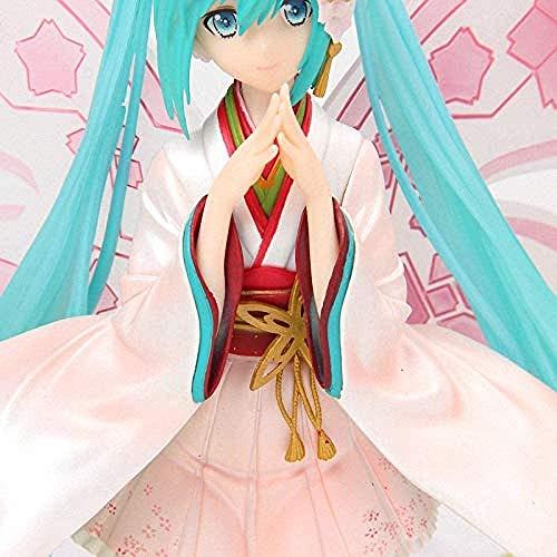 LOVEMLQL Anime Good Smile Racing Kimono Ver. Hatsune Miku Tony Butterfly Schöne Statue Figur Modell Spielzeug mit Retail Box-No Retail Box