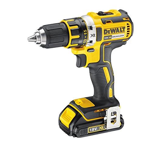 Dewalt DCD790S2-QW DCD790S2 boormachine 18 V / 1,5 (BL), zwart/geel