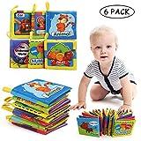 LEADSTAR Libros de Tela para Bebé, Bebé Libro de Suave, Libro de Cognición...