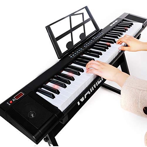 Cocoarm Digital Keyboard Tragbares Standard 61 Tasten Digitales E-Piano Elektronisches Keyboard Musikinstrument mit Aufnahme- und Wiedergabefunktion