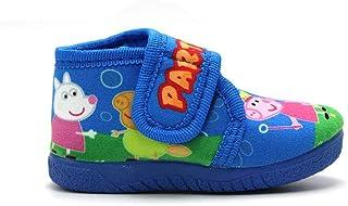 ALCALDE - Zapatillas de casa Alcalde 16500 Tipo Bota con Velcro, Peppa Pig, para: Niña