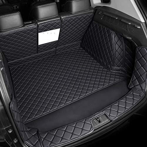 Alfombrilla para maletero coche Fit estera maletero del coche Fit for BMW X1 X3 X4 X5 X6 X2 E46 E39 E60 F10 F11 de línea de carga interior Accesorios Alfombra estilo del coche, un conjunto completo es
