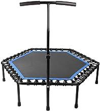 Ever Trampoline Fitness, Zeshoekig voor Volwassen Kinderkamer Gym Elastische String Trampoline Indoor Home Entertainment D...