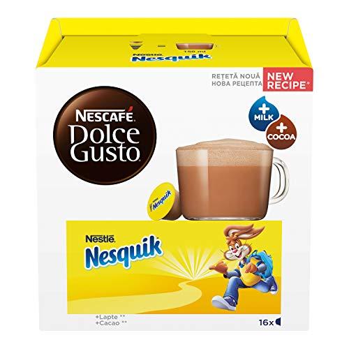 Nescafé Dolce Gusto Nesquik Bevanda al Gusto di Cioccolato, 3 Confezioni da 16 Capsule (48 Capsule)
