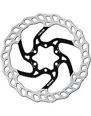 GALFER Bike MTB Disc Wave Ø160MM, Unisex niños, Plateado, ESTANDAR