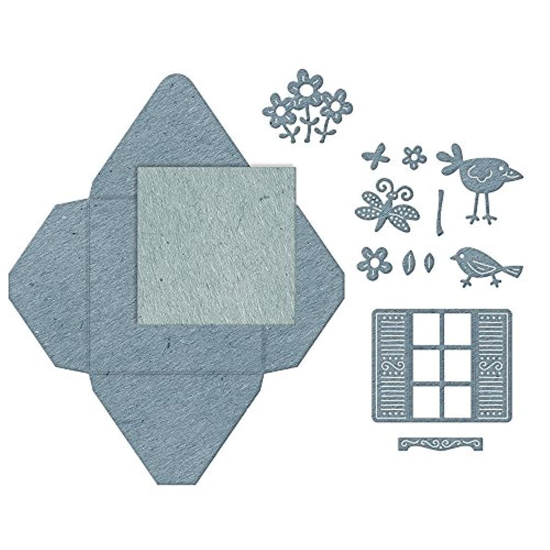 Cheery Lynn Designs B861 Shuttered Window Gift Envelope 13 Piece Die Set