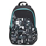 9. Wildcraft 29.5 Ltrs Black Casual Backpack