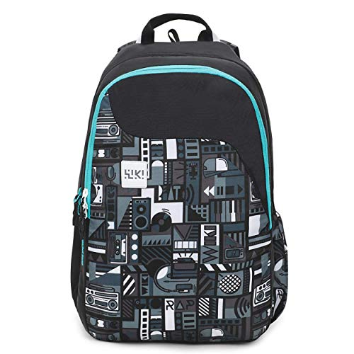 Wildcraft 29.5 Ltrs Black Casual Backpack