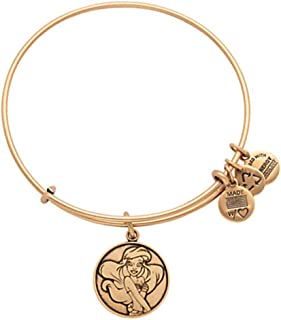 Disney Parks Alex and ANI Ariel The Little Mermaid Gold Bracelet Charm